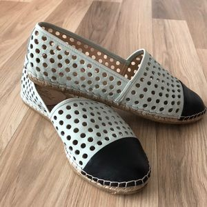 Loeffer Randall perforated espadrilles flat shoes